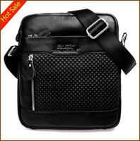2014 Men Designer Mens Bag Fashion 100% Cowhide Genuine Leather Bags Briefcase Business Shoulder Messenger Bags For MenA5050