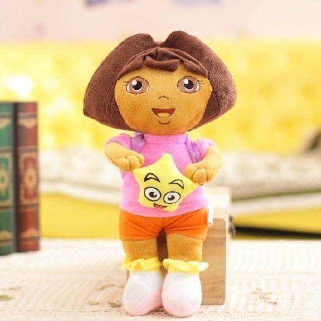 45cm Dora the Explorer plush toys skin, Boots and Rascal jacket, no padding, animal teddy bear coat(China (Mainland))