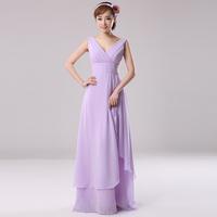 long design bridesmaid sister dress