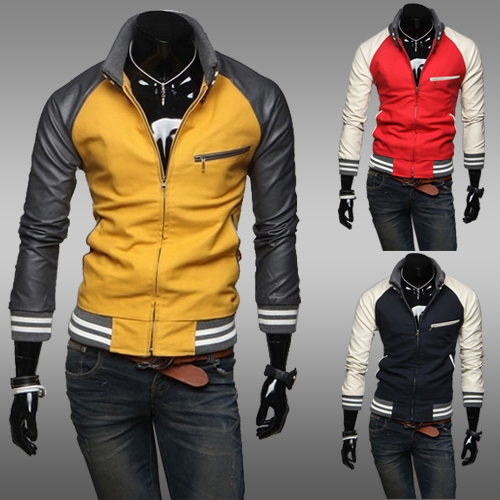 mens outerwear coat 2014 hot sale fall men's full sleeves casual sweater shirts fashion men sport jackets(China (Mainland))