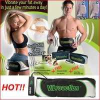 NEW Vibroaction Vibration Slimmer Fitness Massager Electric Vibrating slimming Health Belt belt Sharper Multi-Language Mannual