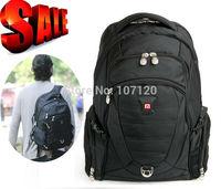 brand SwissLander,SwissGear,15.6 inch,men Laptop backpack,computer men's backpacks,notebook bagpack,netbook bag w/raincover,lock