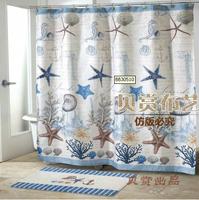 Waterproof thickening shower curtain fashion bathroom curtain curtains