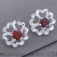 LX-AE673 925 sterling silver earrings , 925 silver fashion jewelry , Five heart together /fpnaogua cuoallva