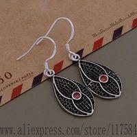 LX-AE682 925 sterling silver earrings , 925 silver fashion jewelry , elegant water drop /fpwaohda cuxalmea