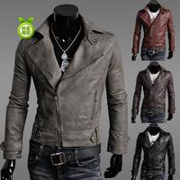 2014 Top Fasion New Freeshipping Rib Sleeve Jersey Zipper Regular Solid Men Casaco Coats & Jackets Jacket Jk17
