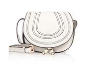 Top quality original brand marcie saddle real calf leather beige tote handbag shoulder bag fashion gift free shipping wholesale