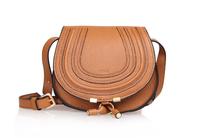 High quality original marcie saddle real calf leather dark khaki tote handbag shoulder bag fashion gift free shipping wholesale