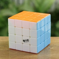 Qiyi Stickerless 4x4x4 Magic Cube Puzzle Educational Spring 4x4 Toys No Sticker Twist Puzzle Educational Toy Children Gift Toys