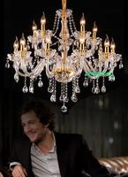 Crystal Chandelier Light for Dining room bedroom chandelier led large modern crystal chandelier for living room lustres de sala