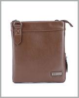 new 2014 fashion design single genuine leather  men message bags pattern handbag famous brand