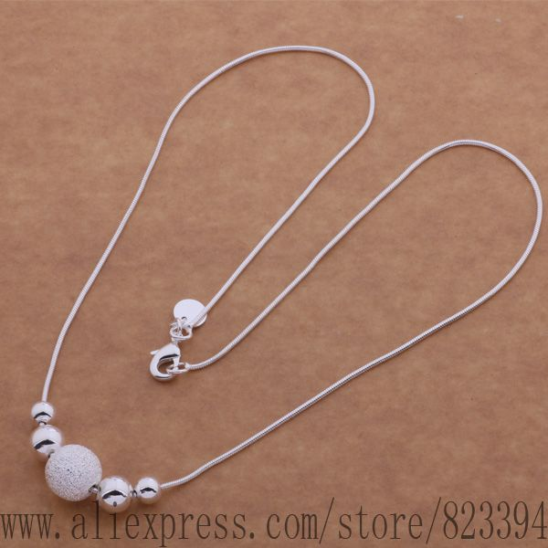 F3 AN540 925 sterling silver Necklace 925 silver fashion jewelry Single five ShaZhu necklace ebmamsta fzqaoqxa