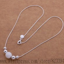F3-AN540 925 sterling silver Necklace, 925 silver fashion jewelry Single five ShaZhu necklace /ebmamsta fzqaoqxa