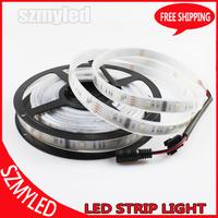 Free Shipping 30M/lot LPD6803 Led Pixel Strip 5M RGB Led Strip 10IC 30Leds Tube Waterproof IP67 Full Colors Digital LED Strip