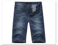 2014 New Arrivals Men Short Jeans New Classic Straight Summer Fashion Cotton Short Men Jeans