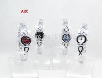 free shipping 10pcs/lot hot Mixed Bulk Lots Stylish Lady girls Women Watches Bracelet wristwatches hot gift(birthday wedding)A