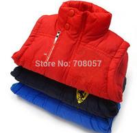 Free shipping 5pcs/lot fashion brand boys girls fur vest  children outwear coat  in stock