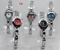 free shipping 5pcs/lot Mixed Bulk COLORS Stylish Lady girls Women Watches Bracelet wristwatches hot gift(birthday wedding)C