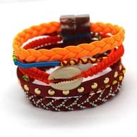 France's Latest Fashion Design Multicolor Brazil Bangles Fashion Popular Female Charm Jewelry Bracelet