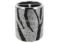 2014 Hot Free shipping(10pcs/lot) Wholesale Fashion zebra jewelry pen holder