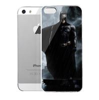 Lencase Case for iPhone 5/5S,Super Heros Series:Batman III