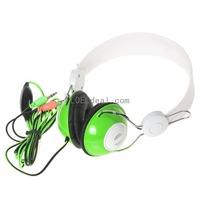 SOUYO SY-HL1518 Stereo Headphone-Green (3.5 stereo 2 M)