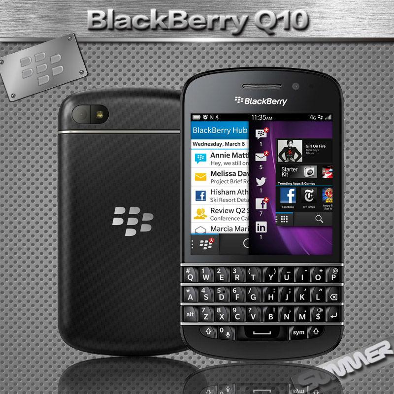 Original Unlocked Blackberry Cell Phones Q10 8.0MP Camera 2GB RAM 16GB ROM Qwerty Refurbished phone Russian Language Multi Lang(China (Mainland))