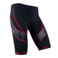 New SANTIC Cycling Shorts Shortpants Tights Padded Mountain Bike Bicycle Cycle Wear Black s 3XL Free Shipping