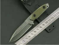 New 2014 TAD strider tactical fixed knives 9Cr18 blade G10 handle with Kydex sheath Best Gift high quality military knife