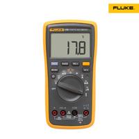 2014 New Upgrade FLUKE 17B + F17B Digital Multimeter with Temperature 1000uF larger LCD backlight, faster, Min / Max Volt alert