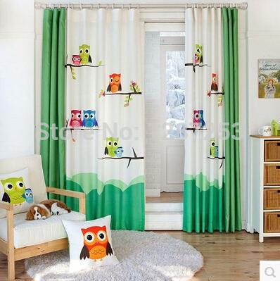 Baby woonkamer pastorale cartoon deur gordijn kant en klaar gordijn voor slaapkamer koffiebar - Koffiebar decoratie ...