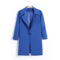 Wholesale women's HCF0 2014 new winter long sections of code suit coats women