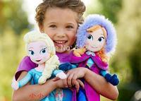 1piece Frozen Doll Frozen Plush Toys 2014 New 50cm Princess Elsa Anna Plush Doll Brinquedos Kids Dolls for Girls Pre-sale