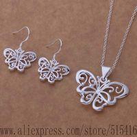 JZ-AS359 925 sterling silver Jewelry Sets Earring 507 + Necklace 153 /avvajnca fhjanyqa