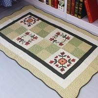 Wholesale Patchwork Bedroom Carpet  For Living Room 50*70cm