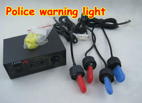 Strobe HID Xenon RGB Police DRL daytime running Lights warning lamp headlight  with flash controller