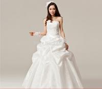 Factory wholesale Korean version of Sweet Princess Wedding Korean Qi bra hotel wedding H10018