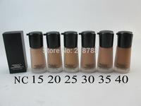 1pcs New profession  make up moisture spf15 foundation fond de teint spf15 30ml
