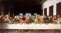 handpainted  classical oil painting reproduction art of Leonardo da Vinci  Dav1009 60x110cm