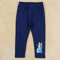 NOVA kids wear Frozen Elsa & Anna princess girls pants spring autumn lovely girl legging G5308
