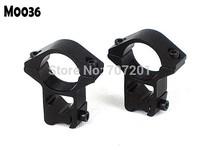 "New 1 pair 1"" 25.4mm Scope Mount Ring 11MM Weaver High Profile Rail Laser Flashlight M0036"