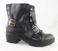 2014 autumn and winter fashion boots for women, genuine leather , black color P27