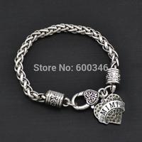 MIMI heart crystal pendant bracelets yiwu made free shipping 50pcs a lot bracelets for mimi