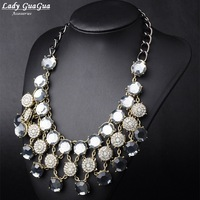 2014 New Arrival Fashion Style Exaggerate Round Shaped  Necklace & Pendants Jewelry For Women Free Shipping  140805