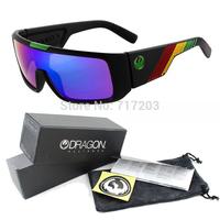 DRAGON New Sport Sunglasses 2014 fashion Men Cycling Eyewear Surfing sun glasses Coating Sunglass Women ray band gafas 14color