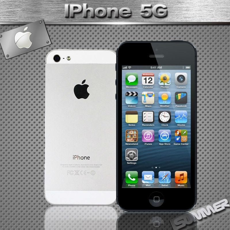 Original Unlocked Apple iPhone 5 Cell Phones Dual Core 16GB/32GB 8MP Camera 4.0 inches WIFI GPS 3G IOS Used Phone Smartphone(China (Mainland))
