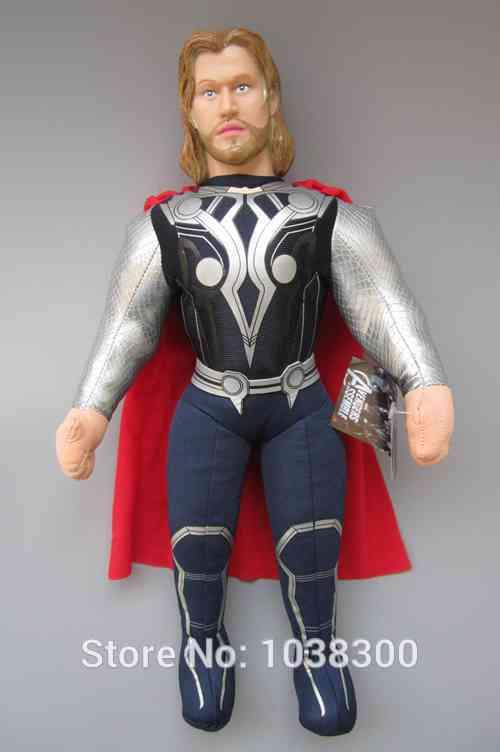 The Avengers Thor: God of Thunder Anime Plush Toys Stuffed Soft Toy For Baby(China (Mainland))