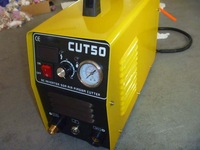 air plasma cutting machine CUT50D for 110/220 duel voltage changing max cut 14mm with PT-31 torch retail & wholesale