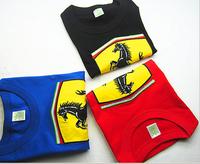 free shipment and wholesale 2013 new boy t shirt children cartoon   t-shirt 100% cotton short sleeve tops for girl