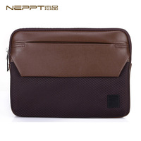 Neppt 2014 New Brand Hot Sale Fashion Clutch Bag Case Cover for iPad Mini Men's Travel Bags